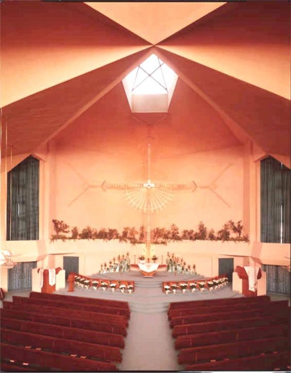 Church interior ca. 1964
