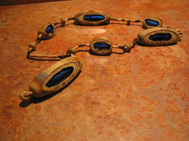 Glass Art Neckpiece 2