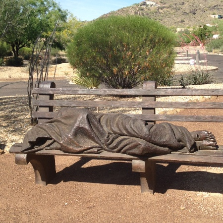 Homeless Jesus web